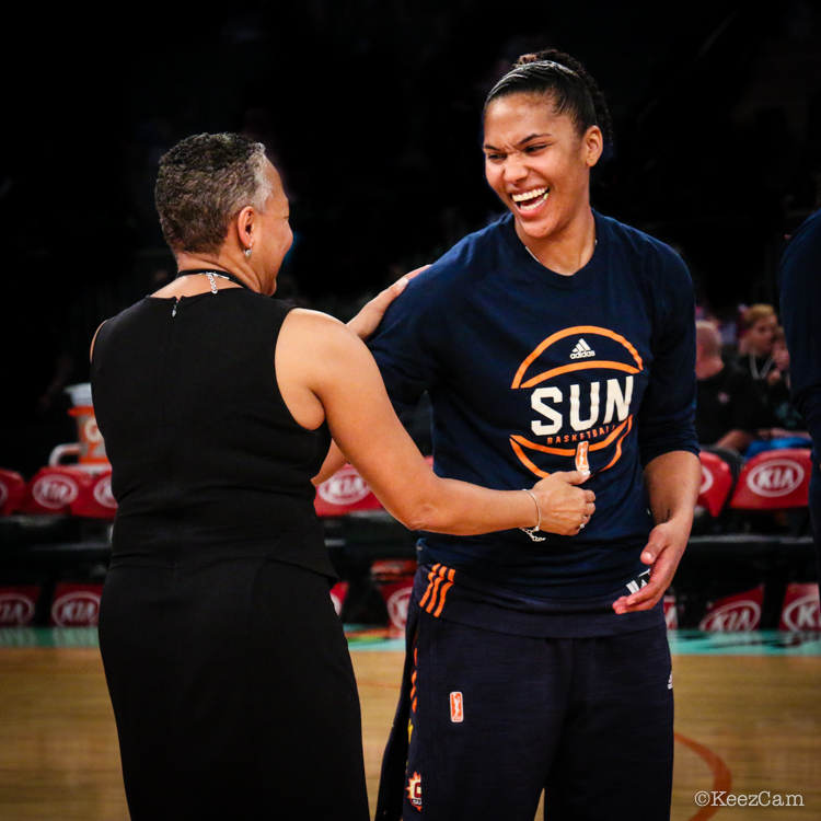 Lisa Borders & Alyssa Thomas