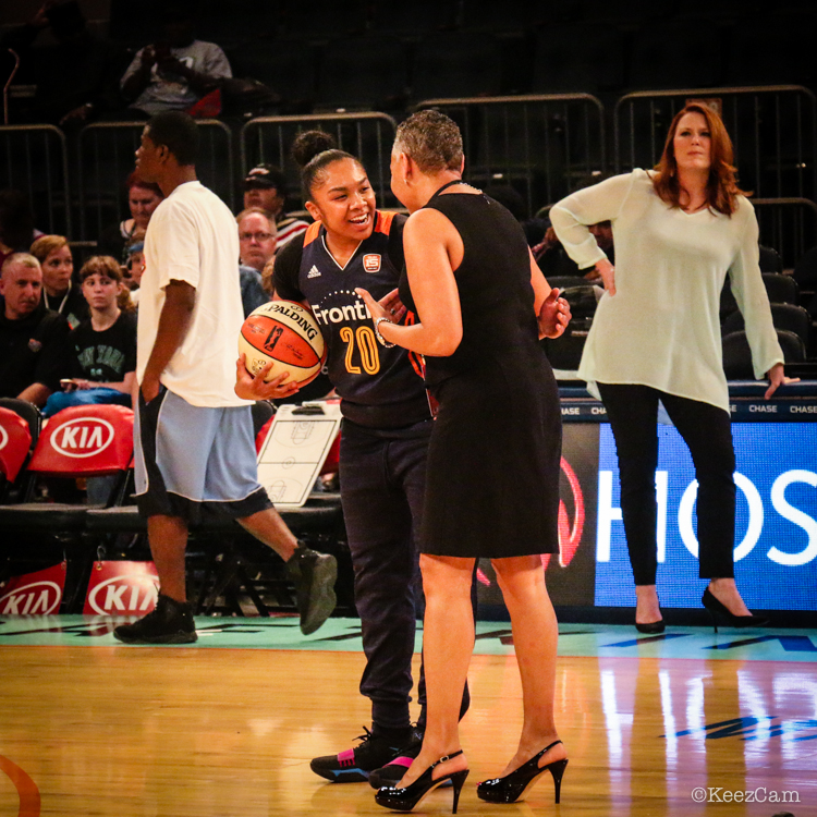 Alex Bentley & Lisa Borders
