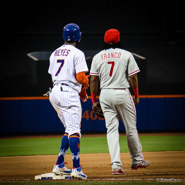 Maikel Franco & Jose Reyes