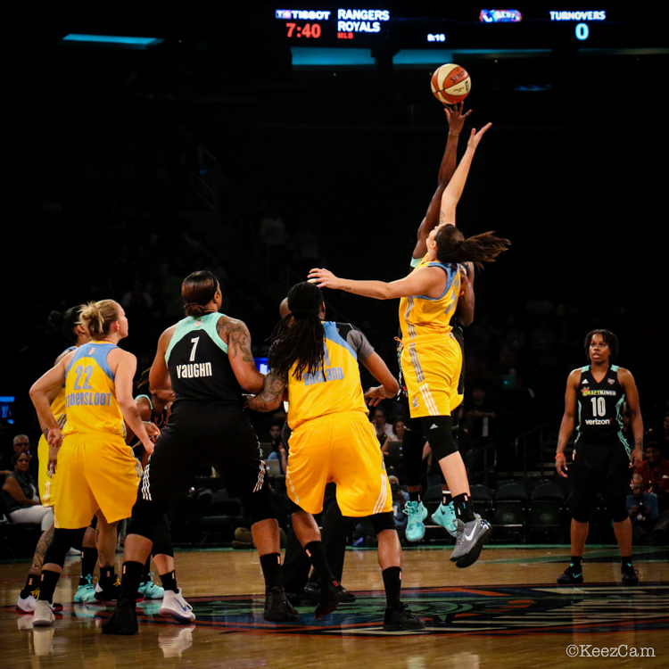 Chicago Sky vs. New York Liberty Tipoff