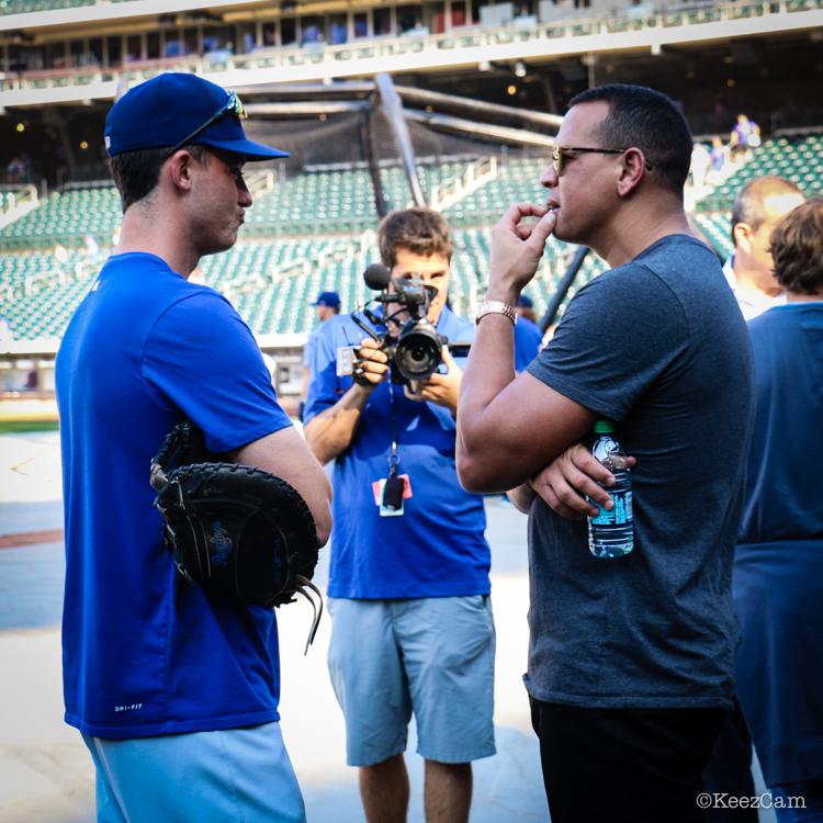 Cody Bellinger & Alex Rodriguez