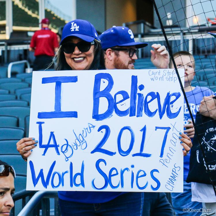 Los Angeles Dodgers Fan