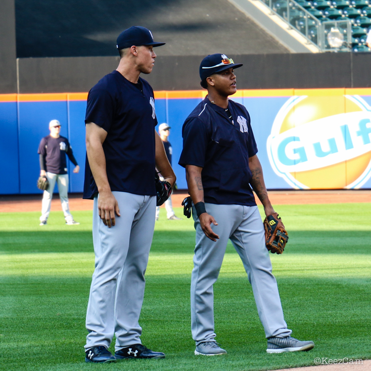 Aaron Judge & Starlin Castro