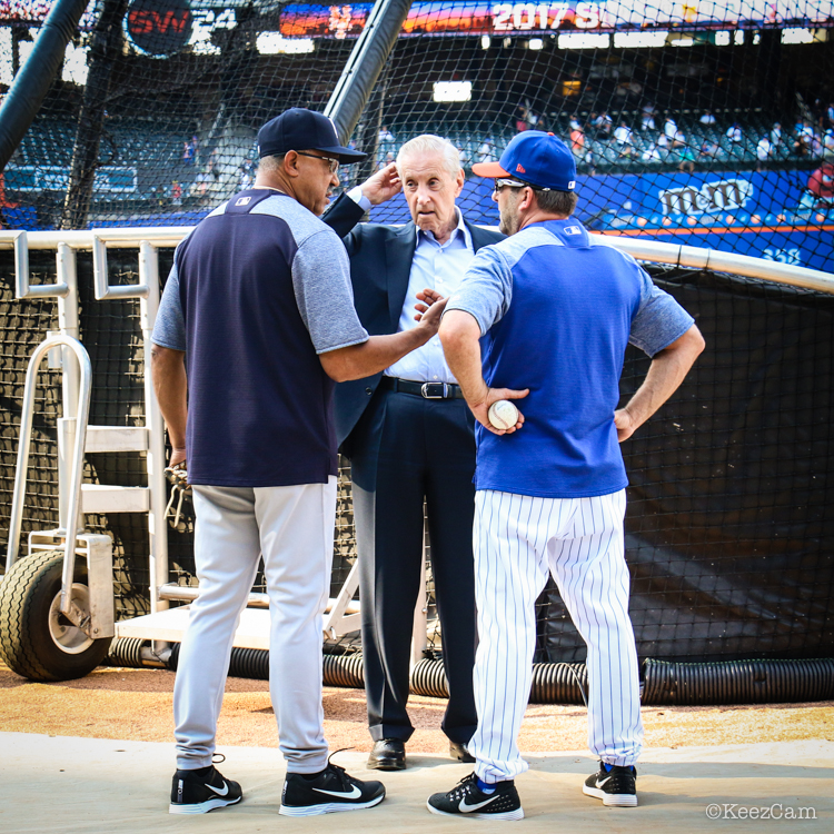 Tony Pena, Fred Wilpon & Kevin Long