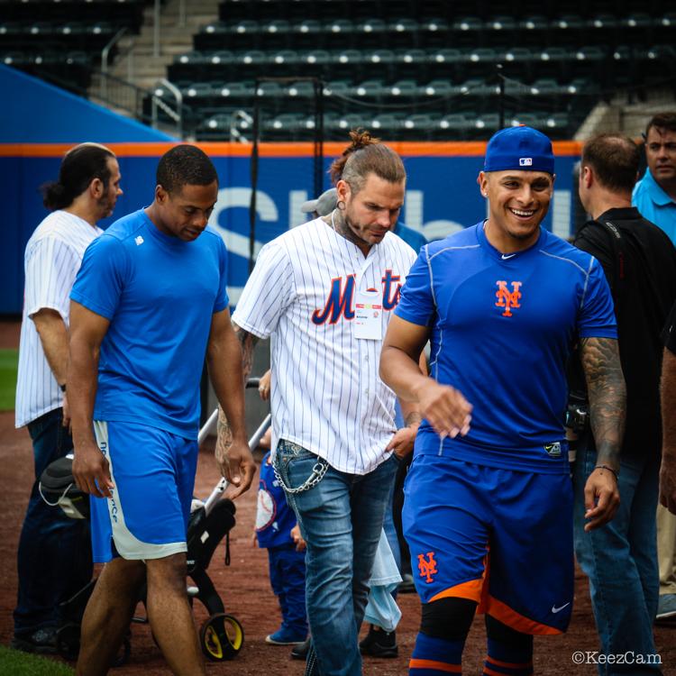 Curtis Granderson, Jeff Hardy & AJ Ramos