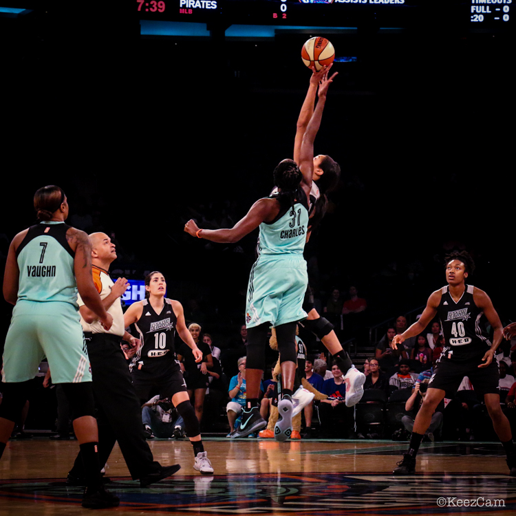 San Antonio Stars vs. New York Liberty