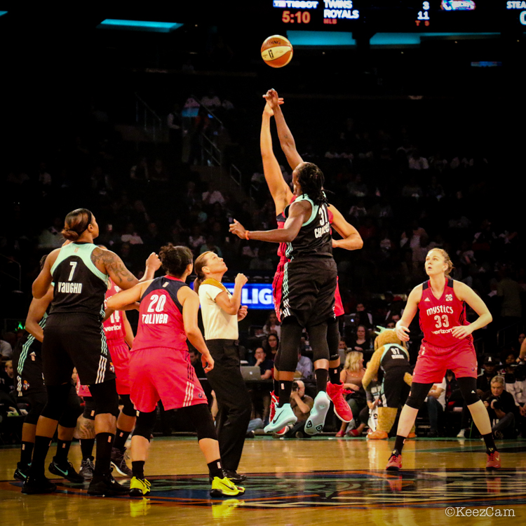 Washington Mystics vs. New York Liberty Tipoff