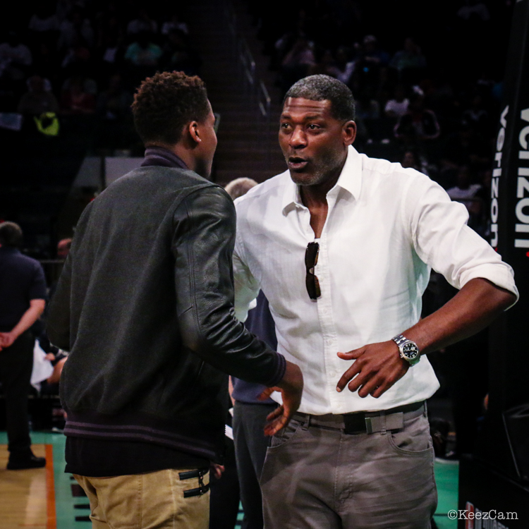 Larry Johnson & Frank Ntilikina