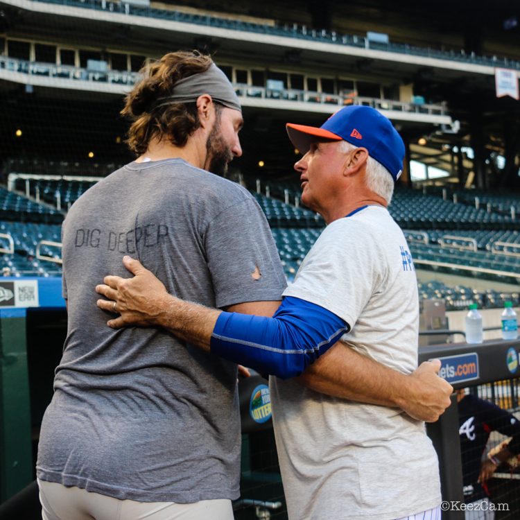 RA Dickey & Terry Collins