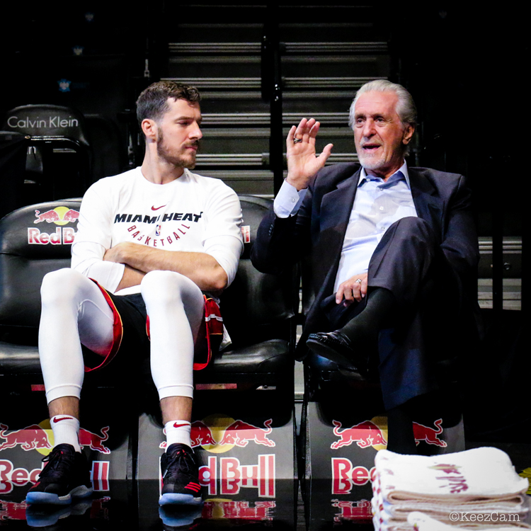 Goran Dragic & Pat Riley