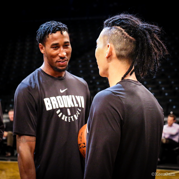 Rondae Hollis-Jefferson & Jeremy Lin