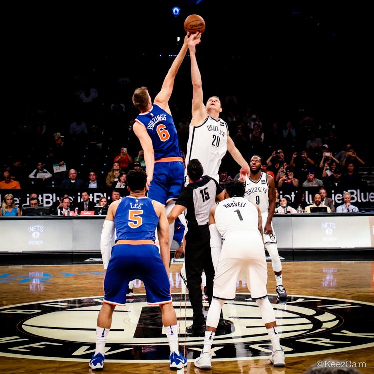 New York Knicks vs. Brooklyn Nets tip-off