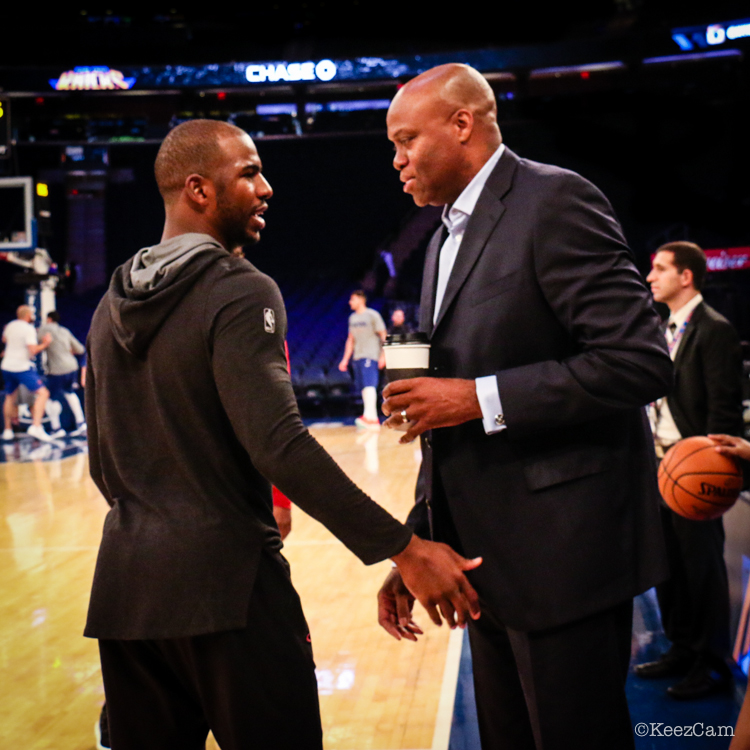 Chris Paul & Craig Robinson