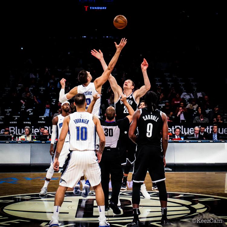 Orlando Magic vs. Brooklyn Nets Tip-Off