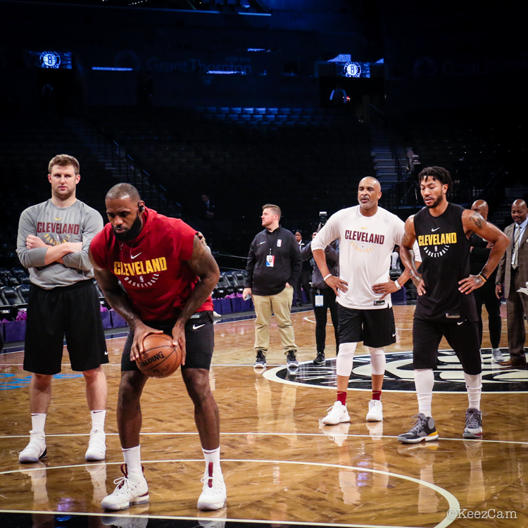 LeBron James, Phil Handy & Derrick Rose