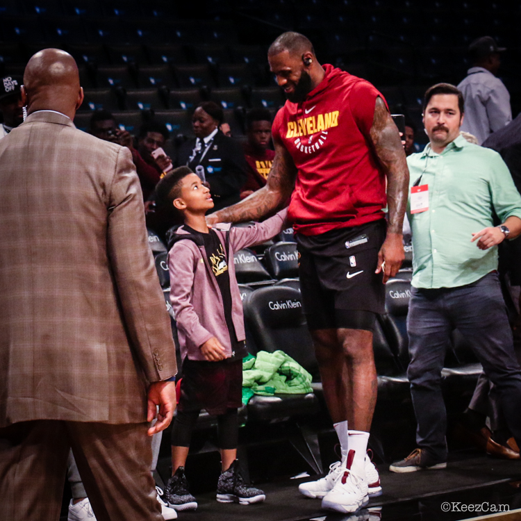 Demarjay Smith & LeBron James