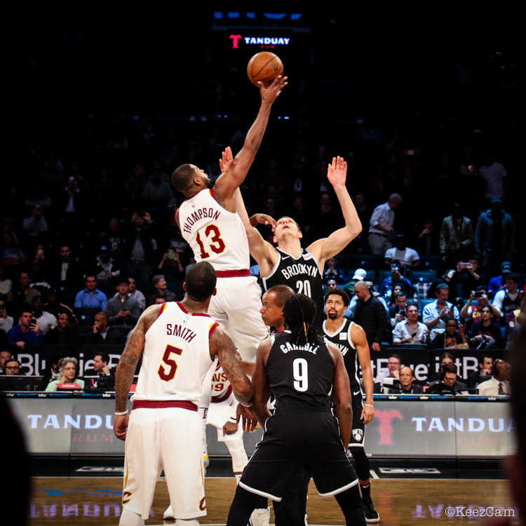 Cleveland Cavaliers vs. Brooklyn Nets Tip-off