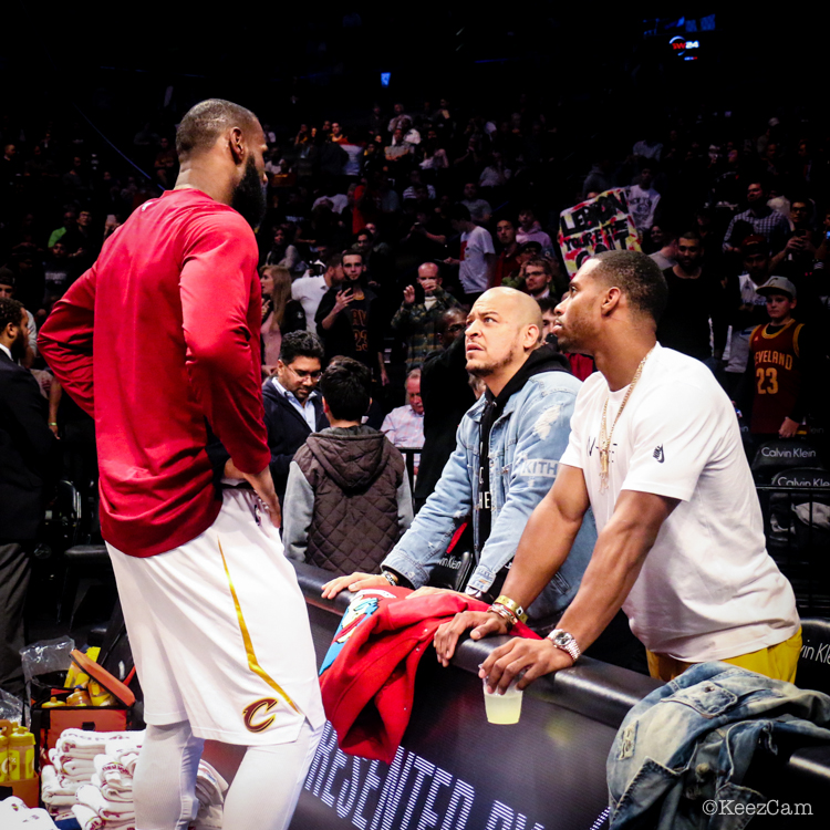 LeBron James & Victor Cruz