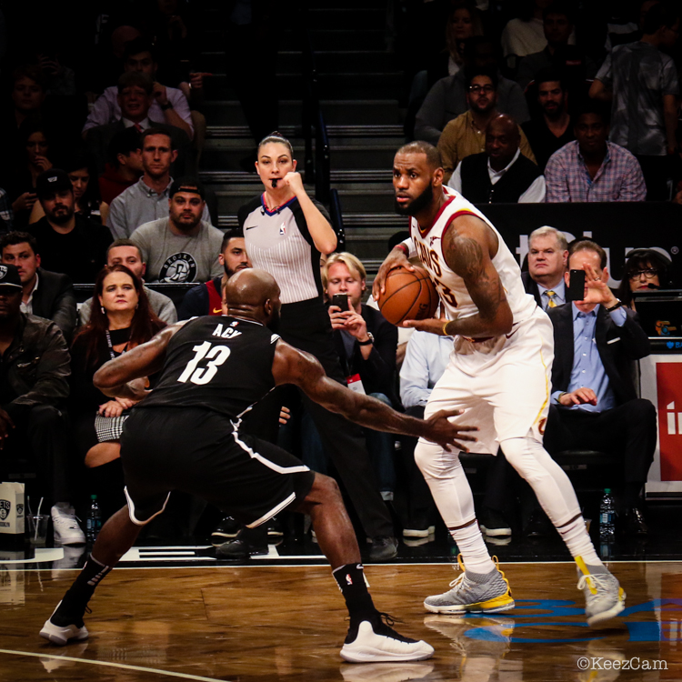 Quincy Acy & LeBron James