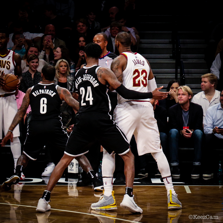 Rondae Hollis-Jefferson & LeBron James