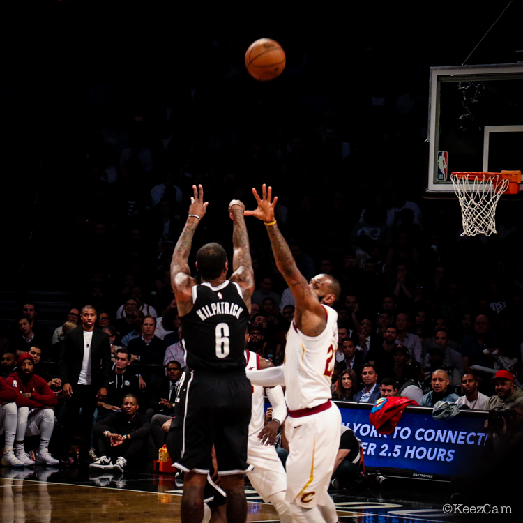 Sean Kilpatrick & LeBron James