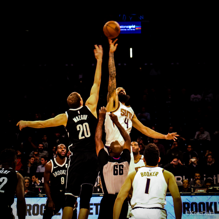 Phoenix Suns vs. Brooklyn Nets Tip-Off