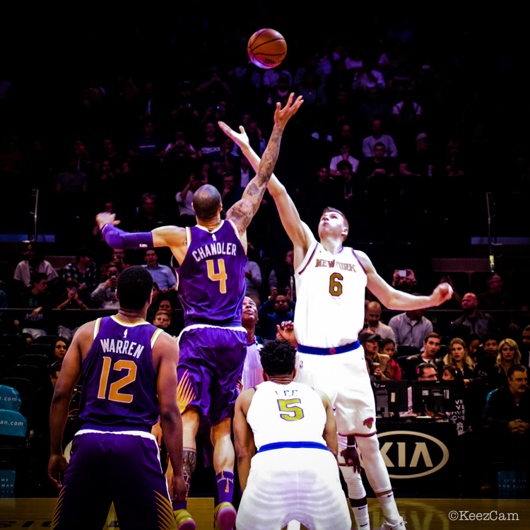 Phoenix Suns vs. New York Knicks Tip-off