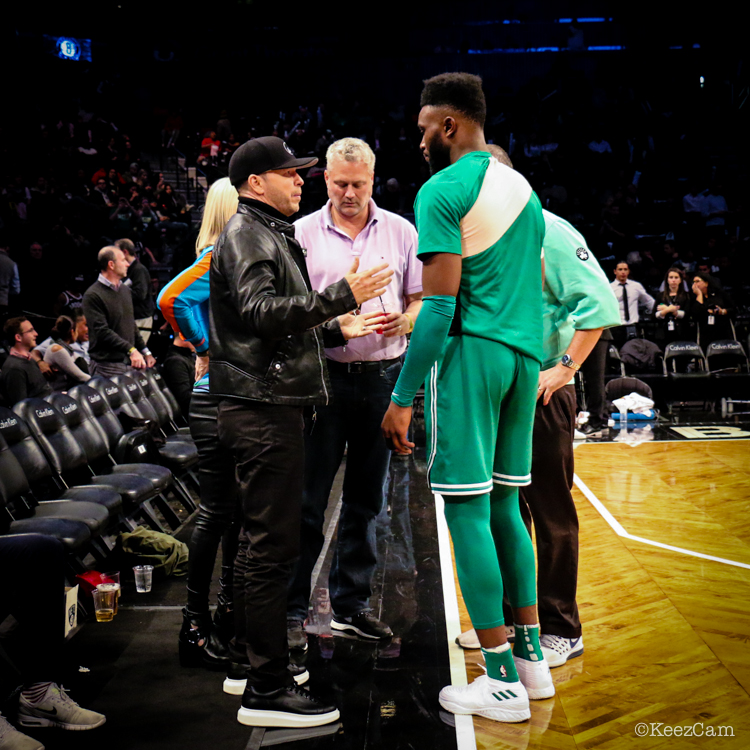 Donnie Wahlberg & Jaylen Brown