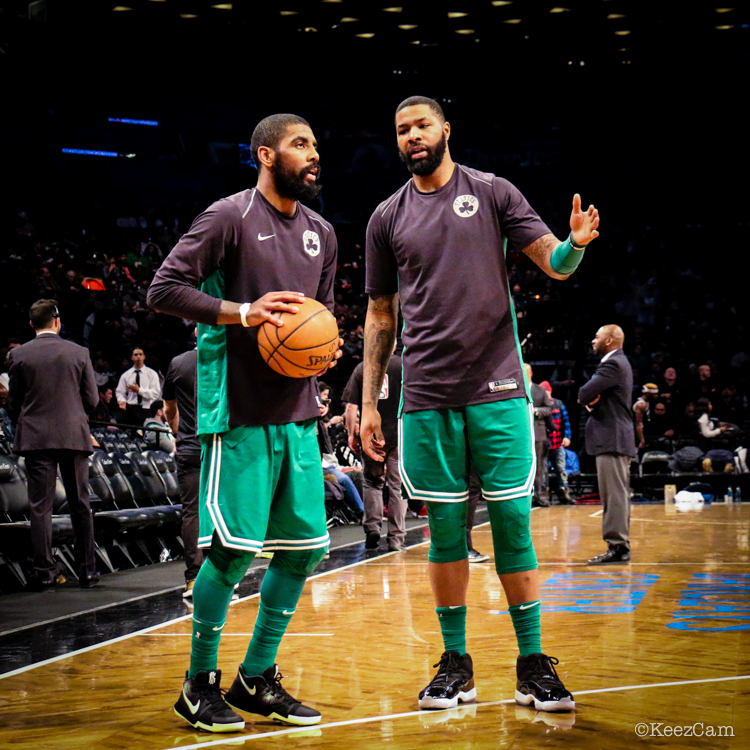 Kyrie Irving & Marcus Morris
