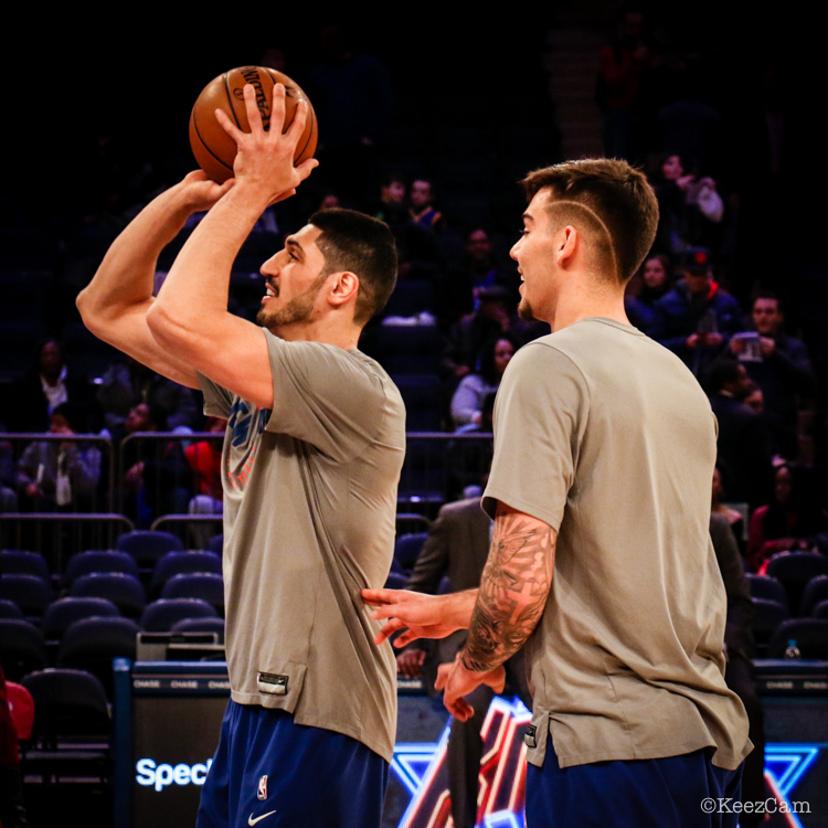 Enes Kanter & Willy Hernangomez