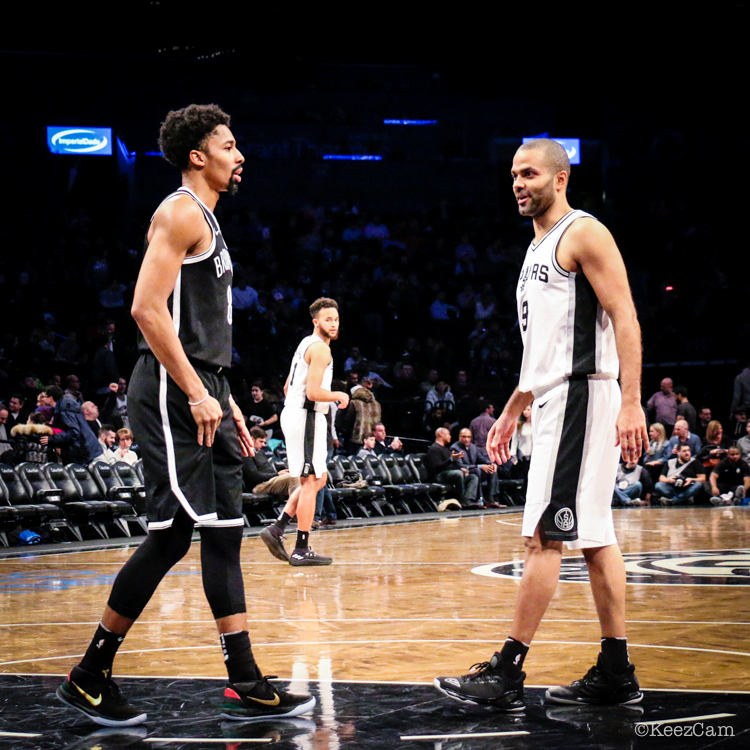 Spencer Dinwiddie & Tony Parker