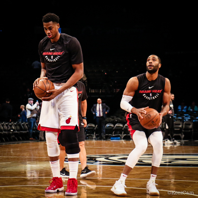 Hassan Whiteside & Wayne Ellington