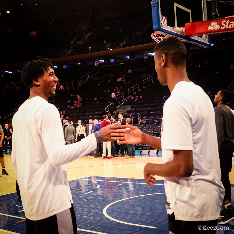 Rondae Hollis-Jefferson & Caris Levert
