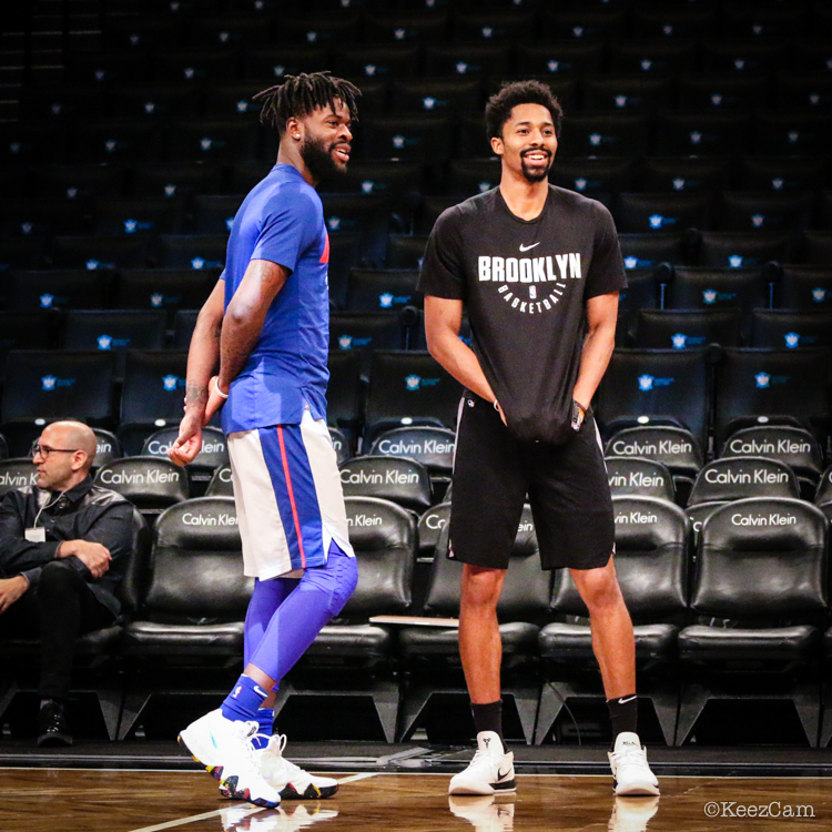 Reggie Bullock & Spencer Dinwiddie