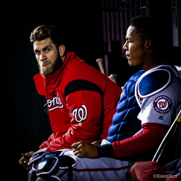 Bryce Harper & Pedro Severino