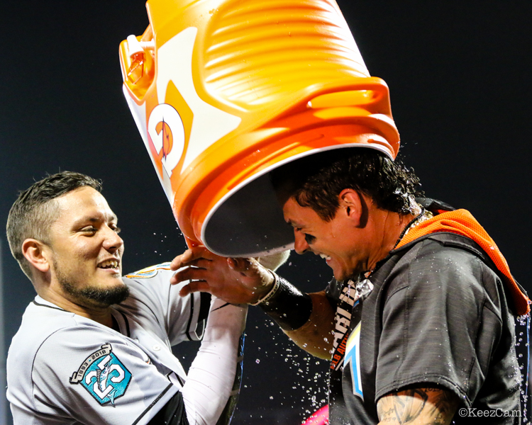 Miguel Rojas & Derek Dietrich