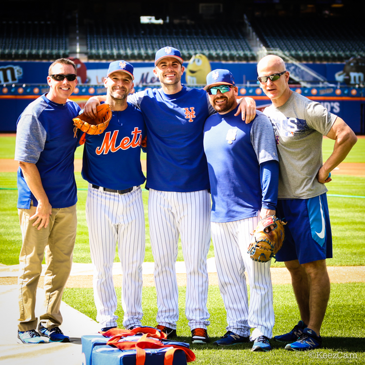 David Wright & Mets Staff