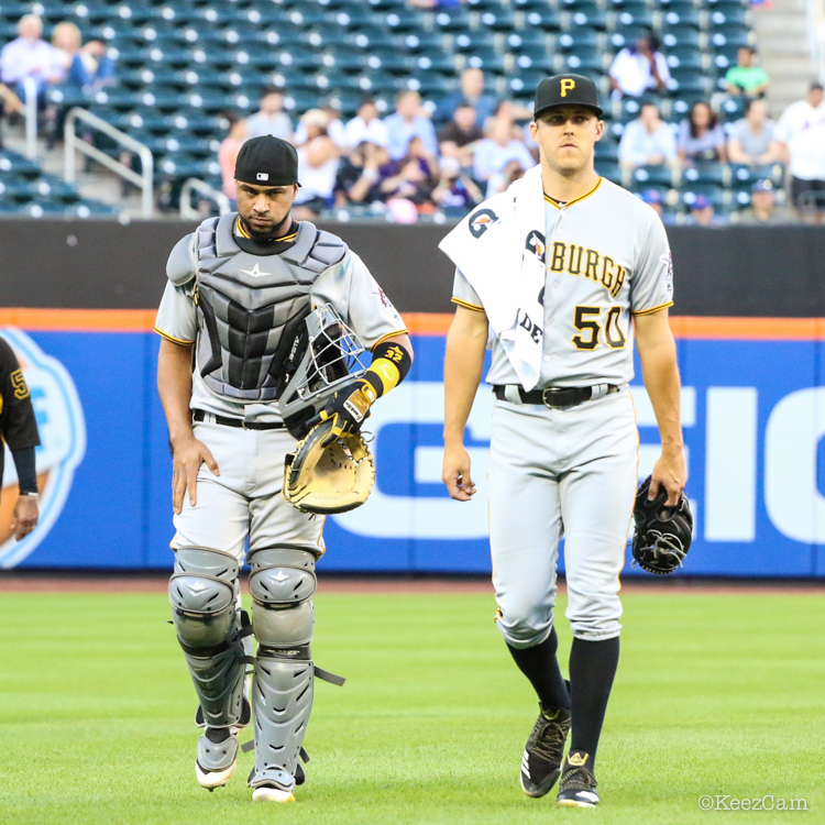 Elias Diaz & Jameson Taillon