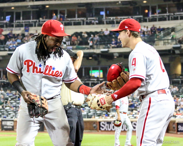 Maikel Franco & Scott Kingery