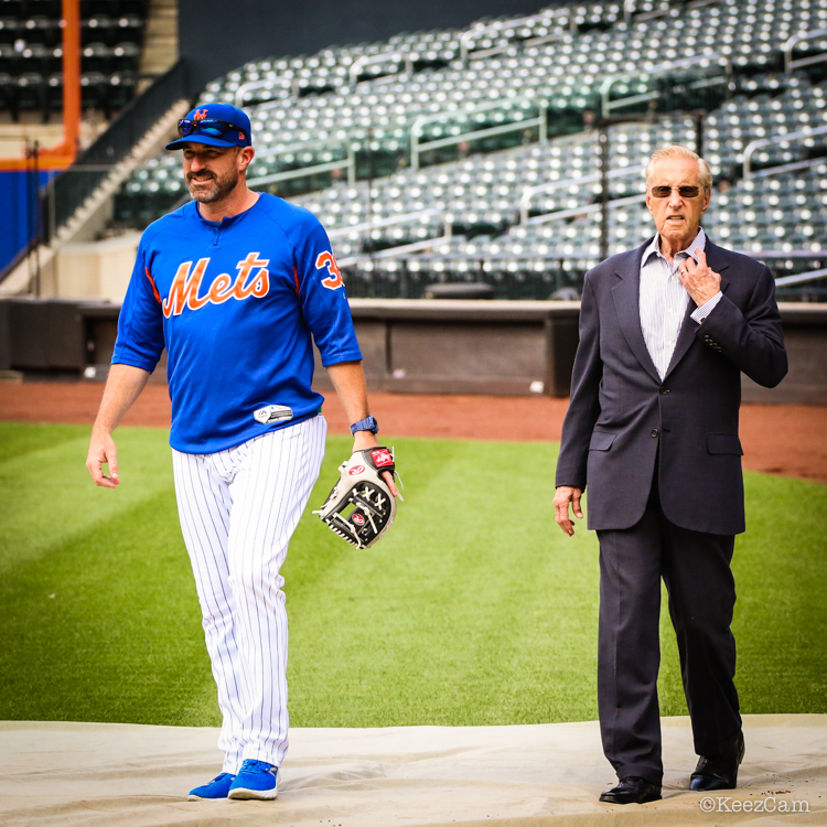 Mickey Calloway & Fred Wilpon