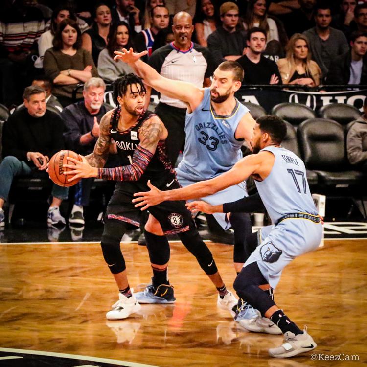 Memphis Grizzlies vs. Brooklyn Nets