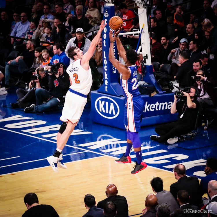 Philadelphia 76'ers vs. New York Knicks