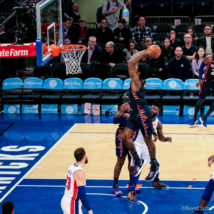 Detroit Pistons vs. New York Knicks