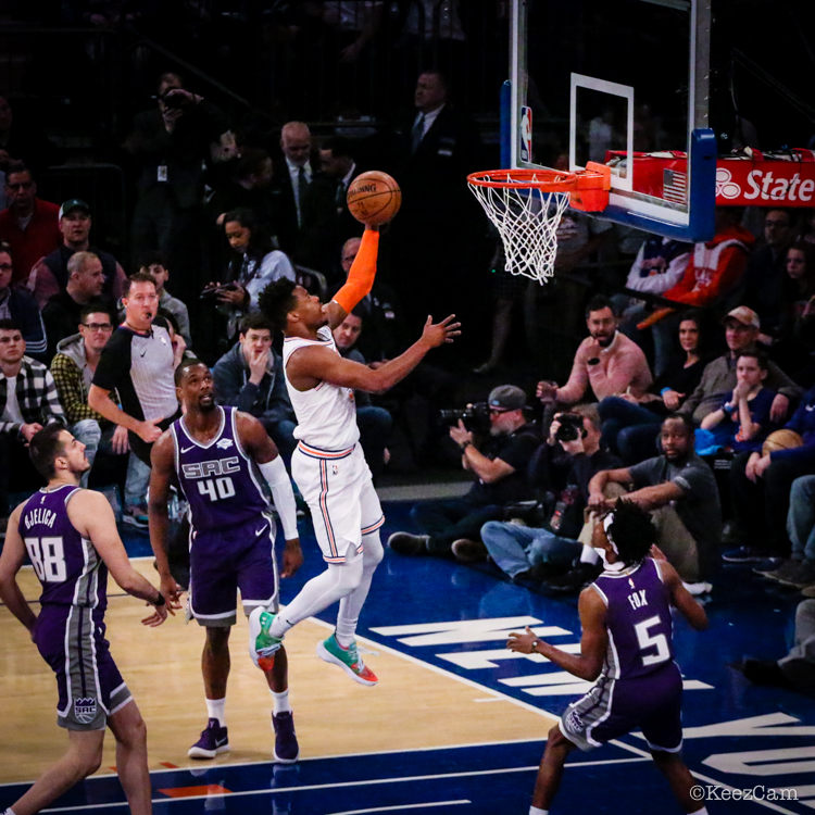 Sacramento Kings vs. New York Knicks
