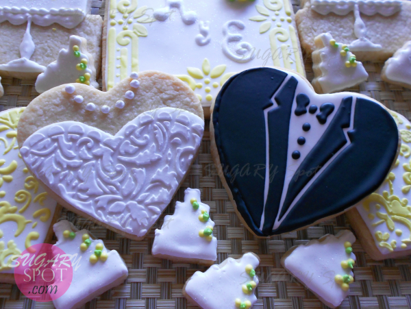 Set de galletas para Boda o Aniversario