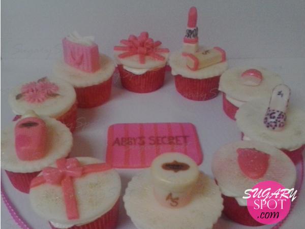 Cupcakes de Victoria's Secret.