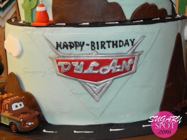 Cars movie cake.