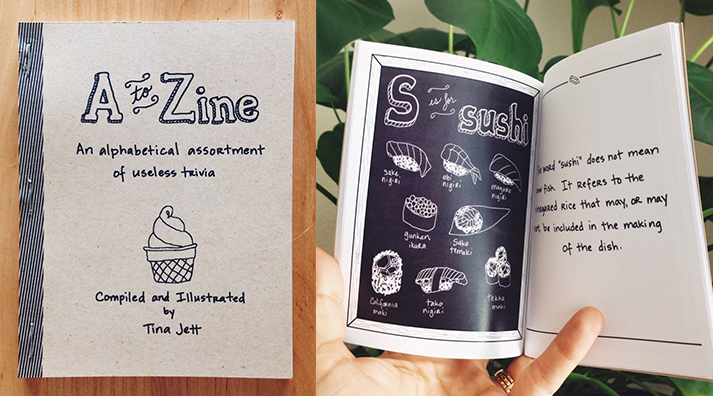 27. A to Zine booklet (2 avail.)