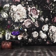 Ellie Cashmanin kukkakuvioiset tapetit ovat jo jonkin aikaa olleet sisustajien suosiossa. Kuva: Ellie Cashman