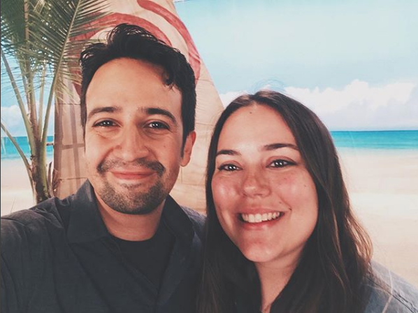 One time I met Lin-Manuel Miranda. - I made him take this selfie.